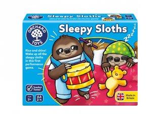 Álmos lajhárok, szórakoztató családi társasjáték (OR, 2-5 év)