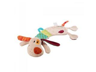 Alvóka és báb díszdobozban, Jef kutyus (Lilliputiens, 86543, plüss bébijáték, 0-3 év)