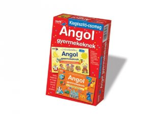 Angol gyerekeknek, kiegészítő csomag (Noris, Angol nyelv gyakorló-, és oktató társasjáték, 6-12 év)