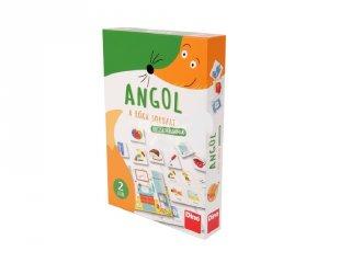 Angol oktató játék, családi kártyajáték (3-10 év)