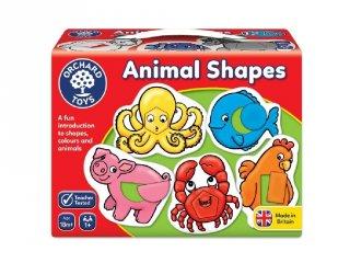 Animal shapes, Állatok és alakzatok Orchard Toys formakereső bébijáték