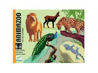 AnimaZoo (Djeco, 5188, állatkertes stratégiai kártyajáték, 6-99 év)
