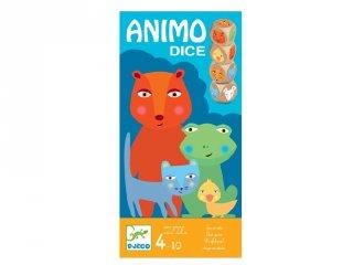 Animo Dice, Djeco állatos kockajáték (8475, 4-10 év)