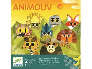 Animouv (Djeco, 8446, stratégiai társasjáték, 7-99 év)