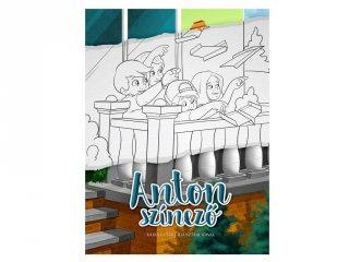 Anton színező, foglalkoztató füzet (3-6 év)