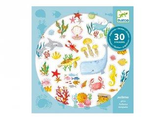 Aqua dream,  Djeco 30 db-os matrica készlet - 9261