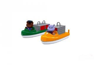 Aquaplay Konténerek és szállítóhajó készlet, fürdőjáték (3-6 év)