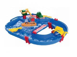 Aquaplay vízi pálya 21 részes kezdő szett, fürdőjáték (3-6 év)