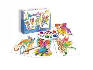 Aquarell junior festőkészlet, Nimfák (SentoSphére, kreatív festőkészlet, 7-99 év)