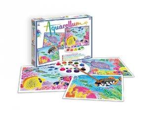 Aquarell nagy festőkészlet, Halak (SentoSphére, kreatív festőkészlet, 8-99 év)