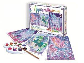 Aquarell nagy festőkészlet, Pegazus (SentoSphére, kreatív festőkészlet, 8-99 év)