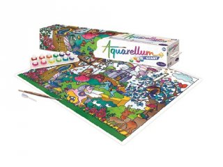 Aquarell óriáskép készítő, Varázslatos világ, SentoSphére kreatív festőkészlet (8-99 év)