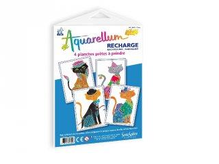Aquarell pótlapok, Macskák (SentoSphére, pótlap az aquarell kreatív festőkészleteihez, 5-99 év)