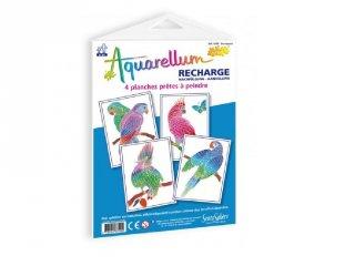 Aquarell pótlapok, Papagájok (SentoSphére, pótlap az aquarell kreatív festőkészleteihez, 5-99 év)