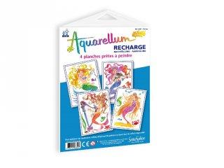 Aquarell pótlapok, Sellők (SentoSphére, pótlap az aquarell kreatív festőkészleteihez, 7-99 év)