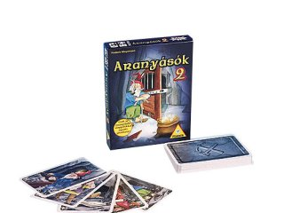 Aranyásók 2. (Piatnik, az alapjátékot kiegészítő kártyajáték, 8-99 év)