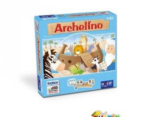 Archelino, avagy Noé bárkája (egyszemélyes logikai játék, 4-12 év)