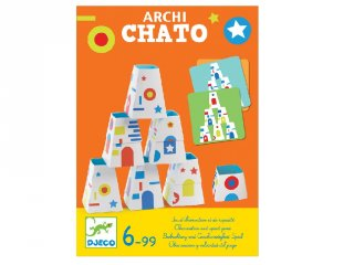 Archichato (Djeco, 8442, gyorsasági társasjáték, 6-99 év)