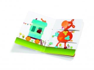 Arlequino lapozgató, A farm (Lilliputiens, 86444, gyerekkönyv, 1-4 év)