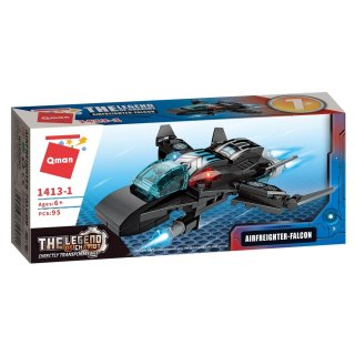 Árnyékvető harci jármű, 8 az 1-ben Lego kompatibilis építőjáték készlet (QMAN, 1413, 6-12 év)