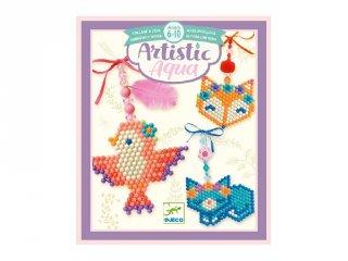 Artistic aqua Country charm, Djeco kreatív szett - 9482 (6-10 év)