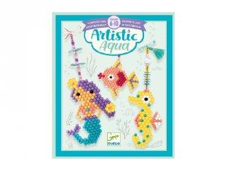 Artistic aqua Sea charm, Djeco kreatív szett - 9483 (6-10 év)