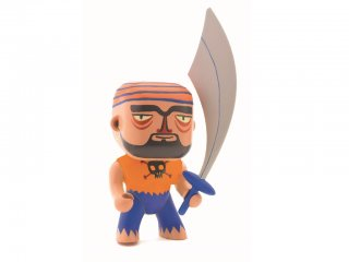 Arty Toys, Akim (Djeco, 6806, kalóz figura, 3-12 év)