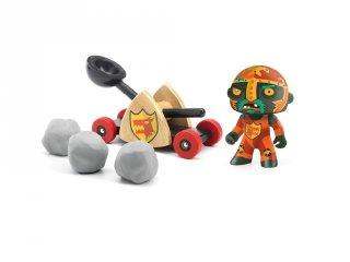 Arty Toys, Baldy & Big paf Djeco lovag figura - 6731