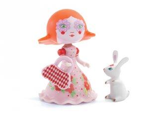 Arty Toys, Elodia & White Djeco hercegnő figura nyúllal - 6780