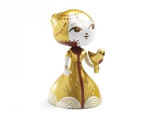 Arty Toys, Elvira Metalic (Djeco, 5960-17, limitált kiadású hercegnő figura, 3-12 év)