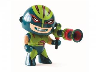 Arty Toys, Furioso (Djeco, 6909, szuperhős figura, 3-12 év)