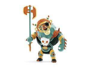 Arty Toys, Maximus oroszlánbőrben Djeco lovag figura - 6727