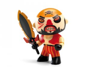 Arty Toys, Soscar Djeco kalóz figura karddal - 6827