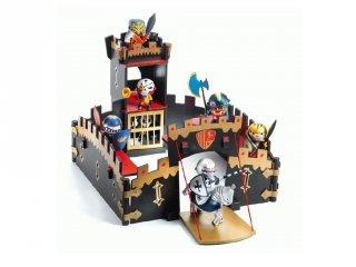 Arty Toys, Ze Black Castel Djeco szerepjáték a lovag figurákhoz - 6749