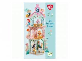 Arty Toys Ze Princesses tornya, Djeco szerepjáték - 6787