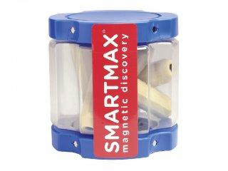 Átlátszó tároló 6 db sötétben világító rúddal (Smartmax, mágneses építőjáték, 3-7 év)