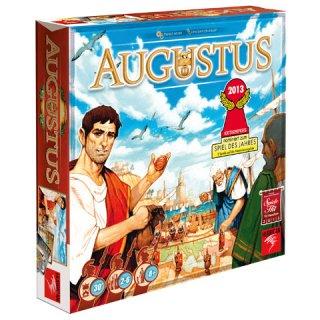 Augustus, a császárok játéka (hurrican games, stratégiai társasjáték, 8-99 év)