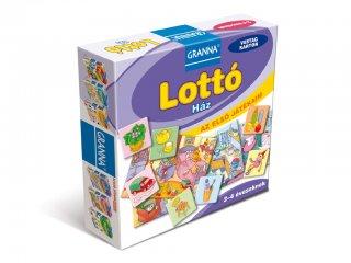 Az első játékaim, Lottó Ház (Granna, képkeresős párosító játék, 2-4 év)