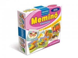 Az első játékaim, Meminó Ellentétek (Granna, logikai memóriajáték, 2-4 év)