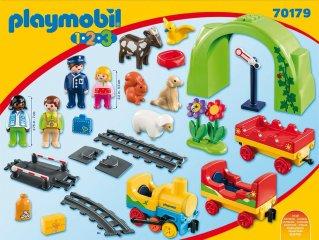 Az első vonatszettem kicsiknek, Playmobil szerepjáték (70179, 1,5-4 év)