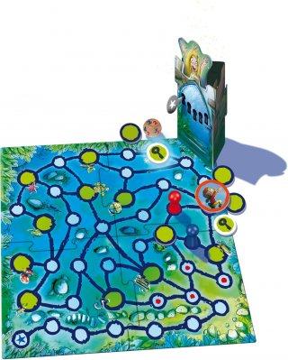 Az elvarázsolt torony, fémdobozos kiadás (DMS, kulcskeresős-királylány szabadítós társasjáték, 5-99 év)
