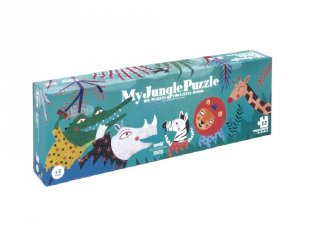 Az én boldog dszungelem óriás puzzle, bébi kirakó (2-4 év)