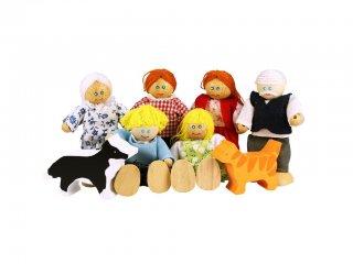 Baba család (Bigjigs, szerepjáték, 3-10 év)