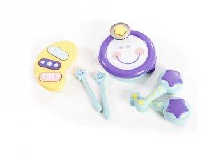 Baby zenekar, baba hangszerkészlet (1-3 év)