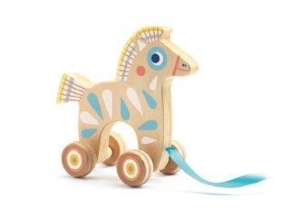 BabyPull, Djeco húzható lovacska, fa bébijáték (6115)