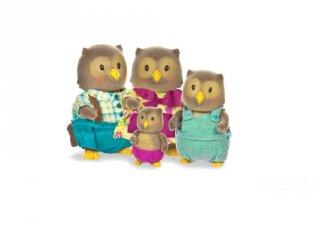 Bagoly család 4 tagú, Lil Woodzeez szerepjáték (3-6 év)