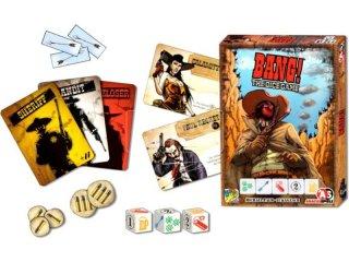 Bang! A kockajáték (DG, vadnyugati, stratégiai partijáték, 8-99 év)