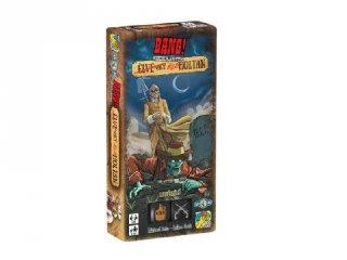 Bang! A kockajáték Élve vagy élőholtan kiegészítő, vadnyugati, stratégiai partijáték (8-99 év)