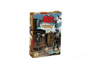 Bang! A párbaj (DG, kétszemélyes stratégiai játék, 8-99 év)
