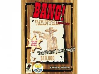 Bang! (vadnyugati, stratégiai partijáték, 8-99 év)